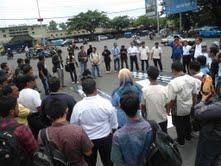 Jurnalis Malang Raya Berkumpul Tolak Kekerasan