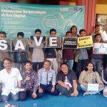 Dukungan dari Malang untuk Dhandy Laksono