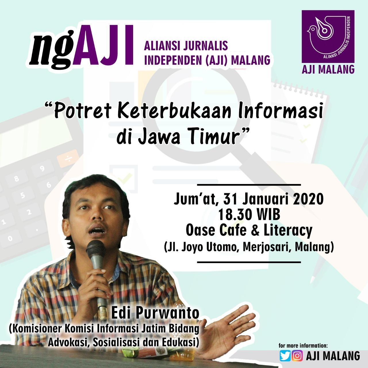 ngAJI Potret Keterbukaan Informasi di Jawa Timur